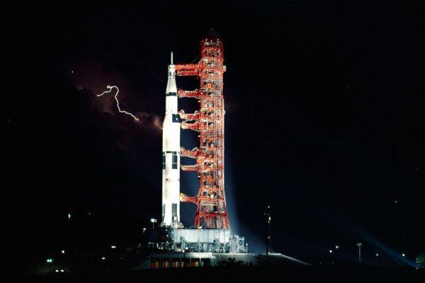 Apollo15 on launchpad