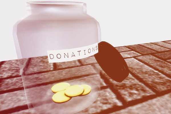 Donation pot