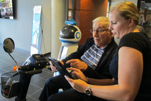 Humanoid robots under development can be programmed to detect changes in an elderly person's preferences and habits.