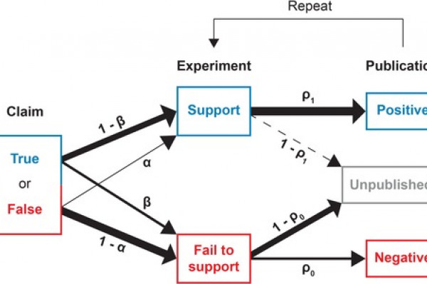 A model to test the impact of publication bias.