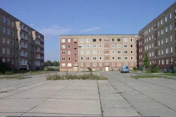 Concrete tower blocks
