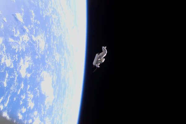 Suitsat being released.