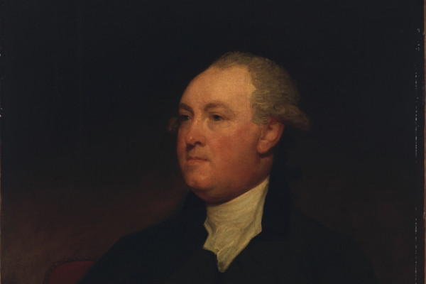 Portrait painting of Thomas Townshend, 1st Viscount Sydney (1732–1800) by the American painter Gilbert Stuart.