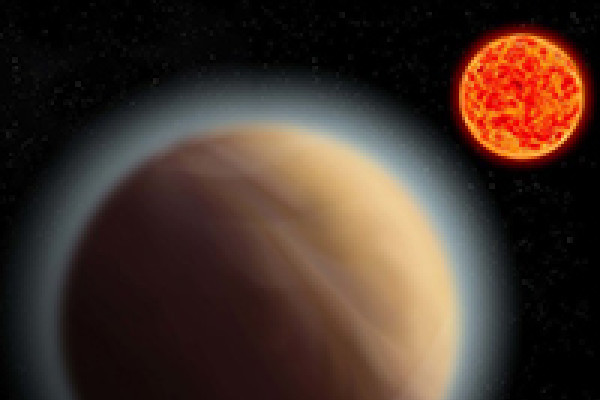 artwork of planet gj1132b