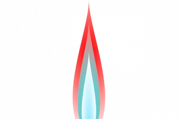 Graphic of a bunsen burner.