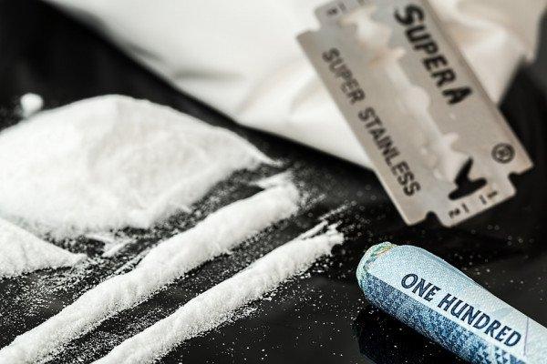 Line of cocaine
