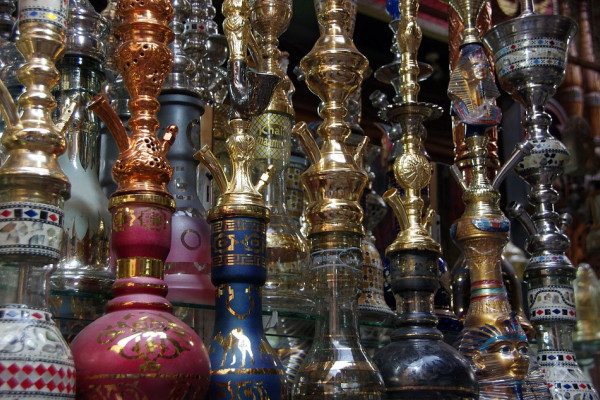 Shisha pipes in Egypt