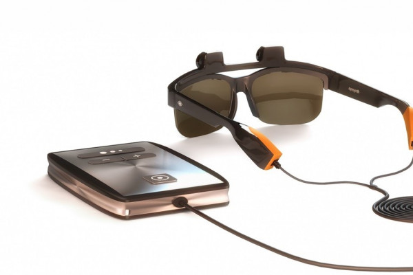 Glasses with special cameras could enable blind or visually impaired people to build a picture of the world around them.