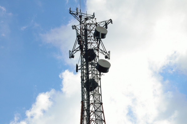 Mobile phone microwave tower