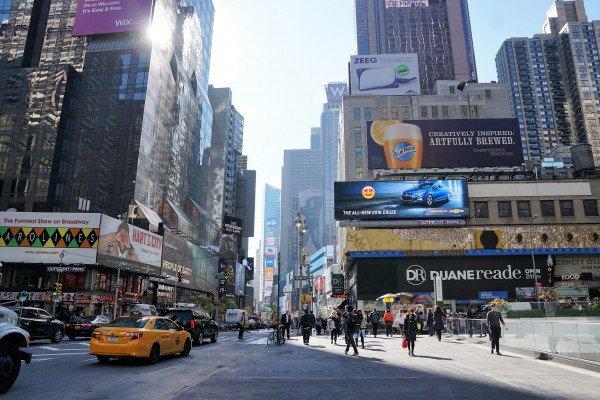 Advertisements in New York