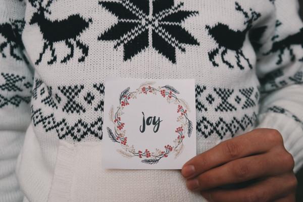 A woollen jumper