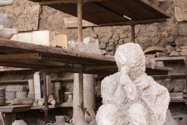 Archaeological artefacts recovered from Pompeii
