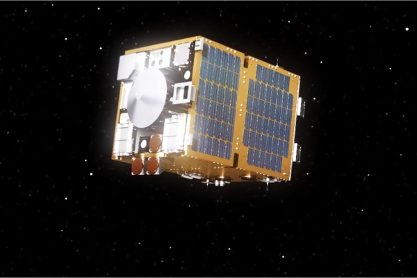 Projected image of the removeDEBRIS project