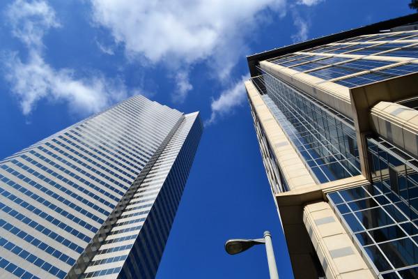 A skyscraper