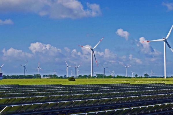 solar park, renewable energy storage