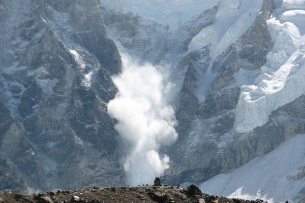 An avalanche.