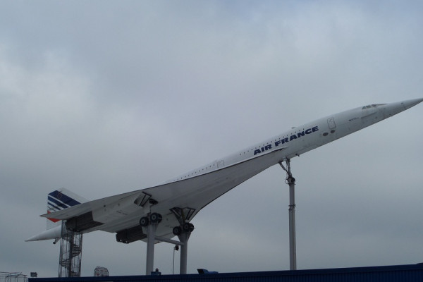 Air France's Concorde plane