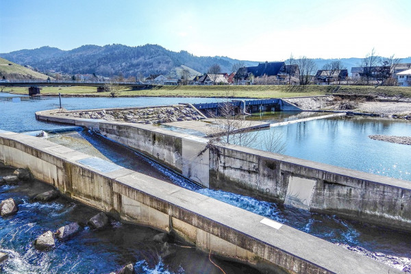 a wastewater treatment plant