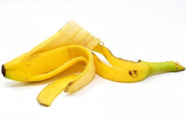 A banana peel.