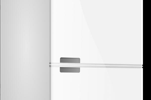 A white fridge