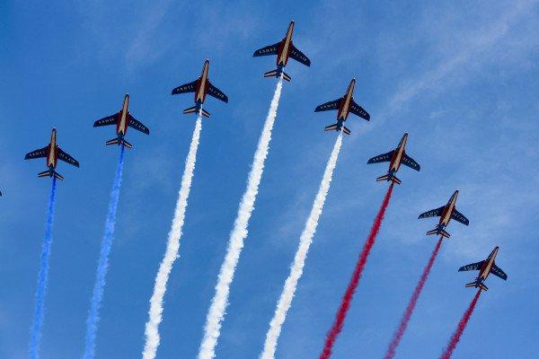 In Flight Formation