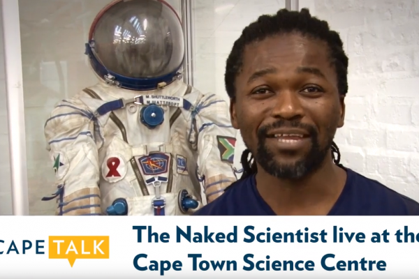 The Naked Scientist live at Cape Town Science Centre, 2016