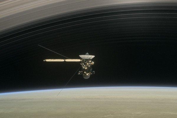 Artist's impression of Cassini
