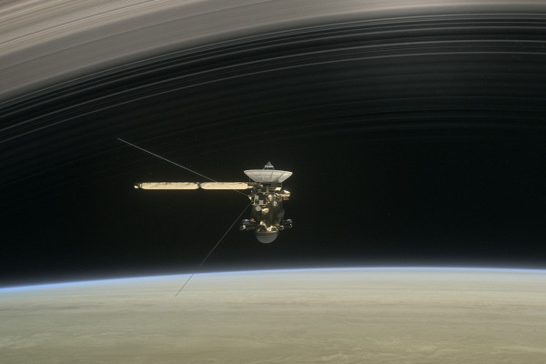 Artist's impression of Cassini