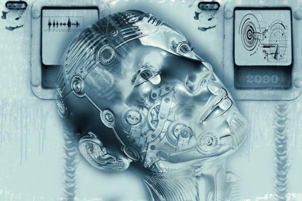 Artist's impression of a cyborg