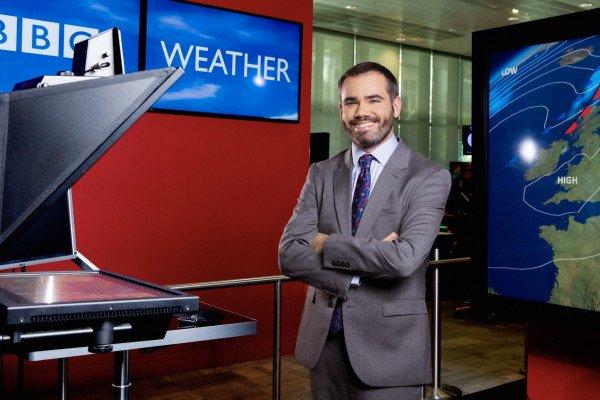 Weather forecaster Ben Rich
