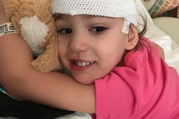 Josie, a girl with FOXG1 Syndrome.