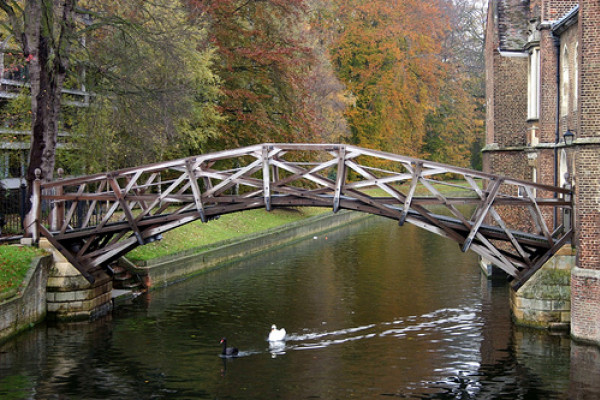 The truss structure of the Mathematical Bridge