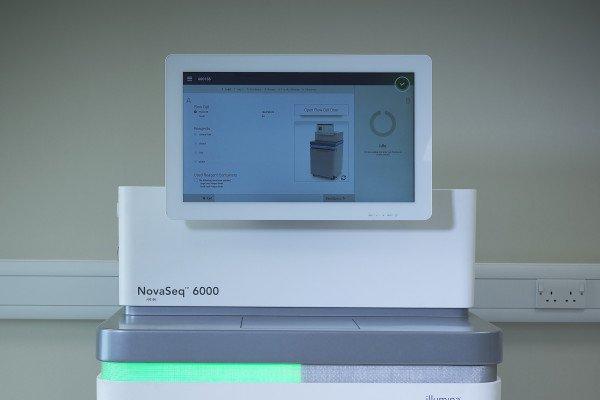 illumina NovaSeq 6000 machine
