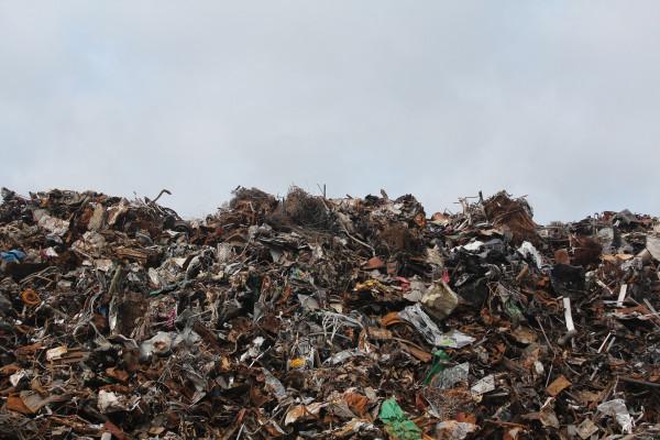 A scrap heap