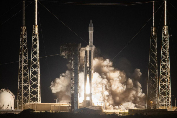Solar Orbiter launch from Cape Canaveral on an Atlas V rocket on February 9th 2020