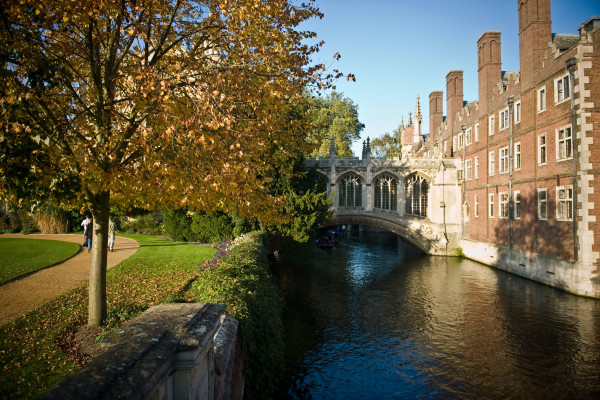 The River Cam and St John's College, Cambridge
