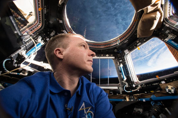 Astronaut, pilot and International Space Station commander Terry Virts