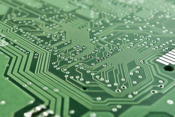 Electronic printed circuit board.