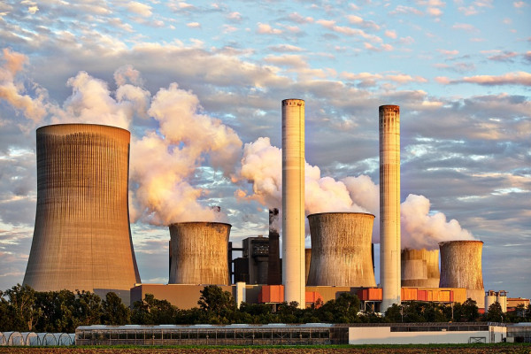 Power stations are a major source of greenhouse gas emissions