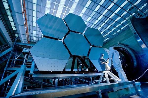 Polishing the mirrors of a compound telescope