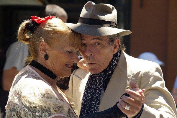 Couple Tango
