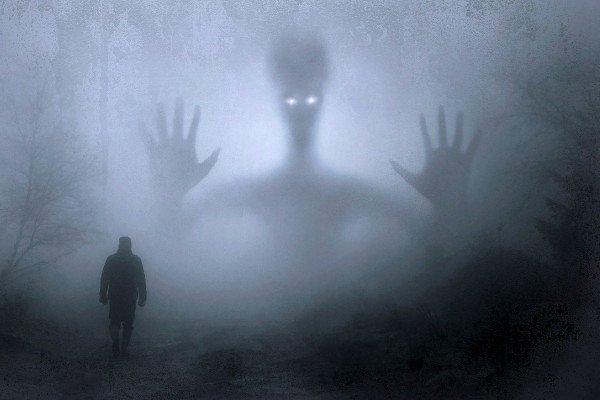 A scary alien