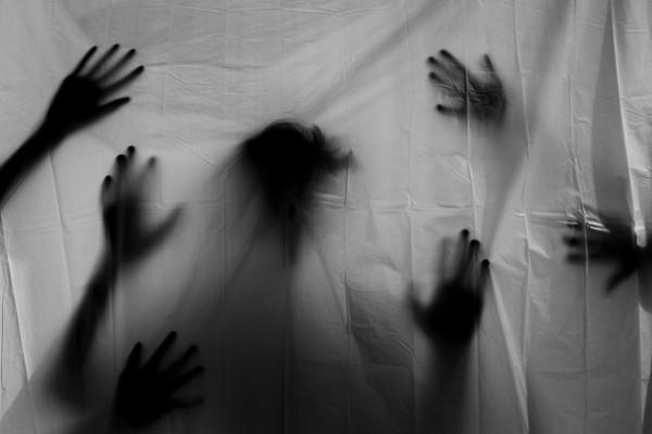 creepy image of silhouettes