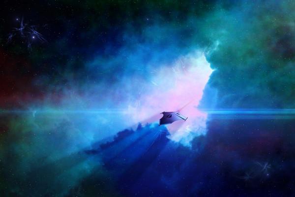 Artists impression of a UFO