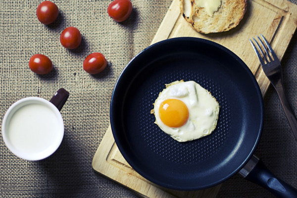 Frying Pan And Egg