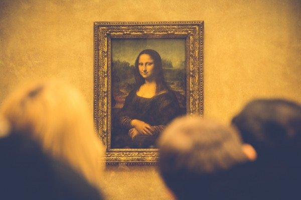 An image of the Mona Lisa