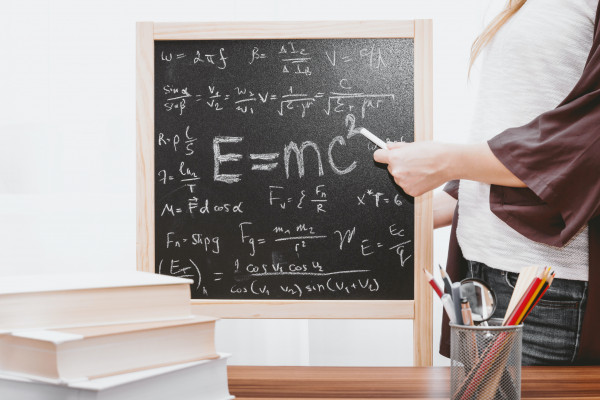 Einstein's most famous equation, e=mc2