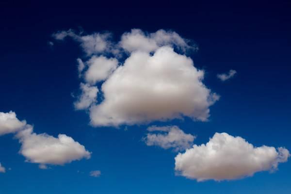 Trio of clouds