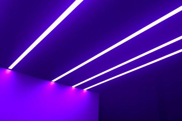 UV light strips.