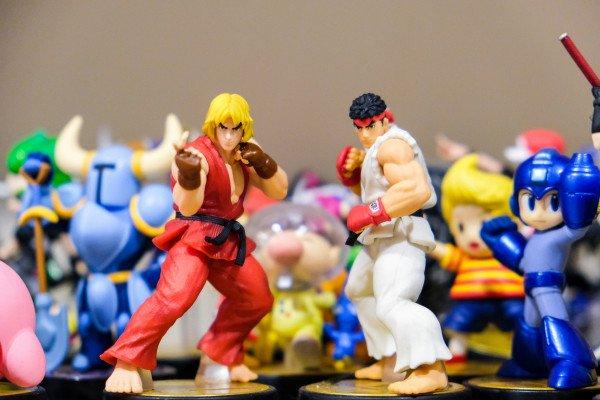 Street Fighter figurines